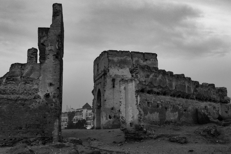 Ruins of an old kasbah. Fes, Morocco.