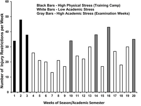 Does Stress Make Us More Susceptible to Injury?