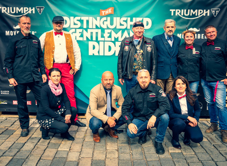IMRG Prague na akci THE DISTINGUISHED GENTLEMAN'S RIDE 2019