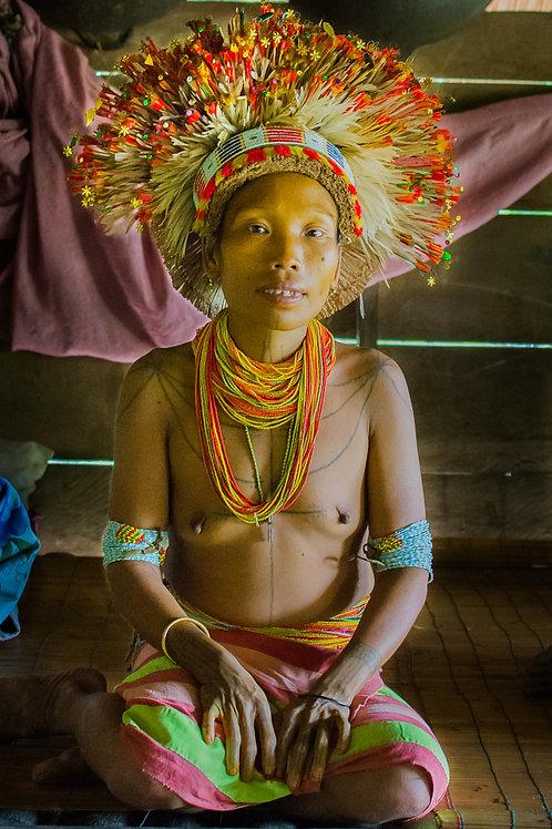 Femme de Sikerei Mentawai