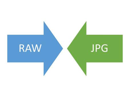 Format de vos photos : JPG ou RAW