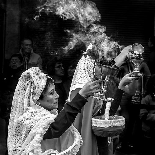 Procession de Pâques - Quechuas