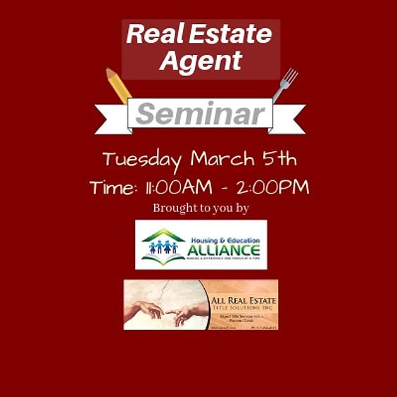 Real Estate Agent Seminar