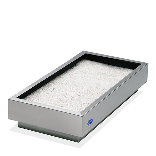 Cenicero arenero rectangular