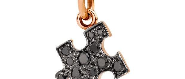 Puzzle con diamanti black