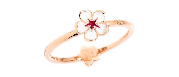 Anello fiore di ciliegio