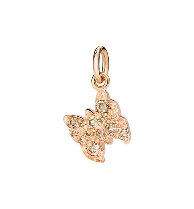 Farfalla diamanti brown - Amo la libertà
