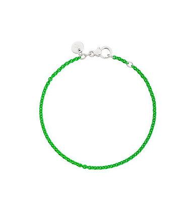 Bracciale in argento Verde