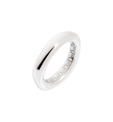 Anello irregular argento