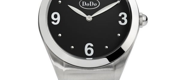 DODO BLACK AND STEEL WATCH