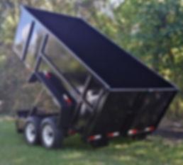 7x14x4 14k GVWR Dump Trailer