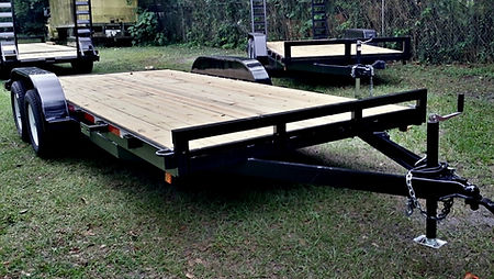 7'x16' Car Hauler, Equipment Trailer