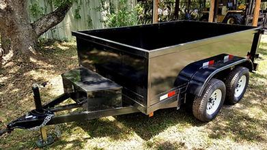 6'x10' Dump trailer