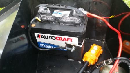 013 Dump Battery Close up