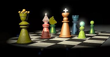 šachy, král církev a hodnosti.webp