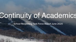 Continuity of Academics Digital Brochure