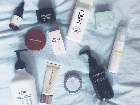 My natural skin and personal care favourites.