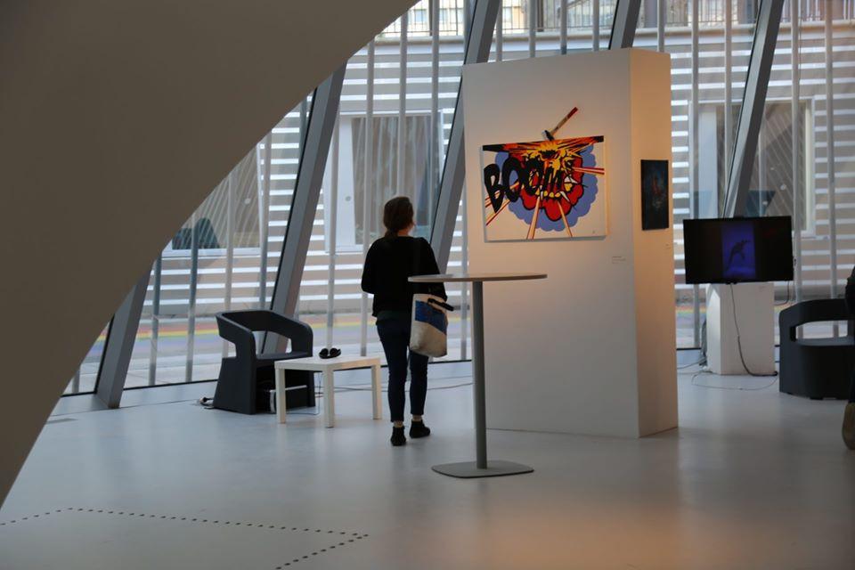 """Exposition Collective """"Prix de la Création Artistique de Sorbonne Université 2019"""""""