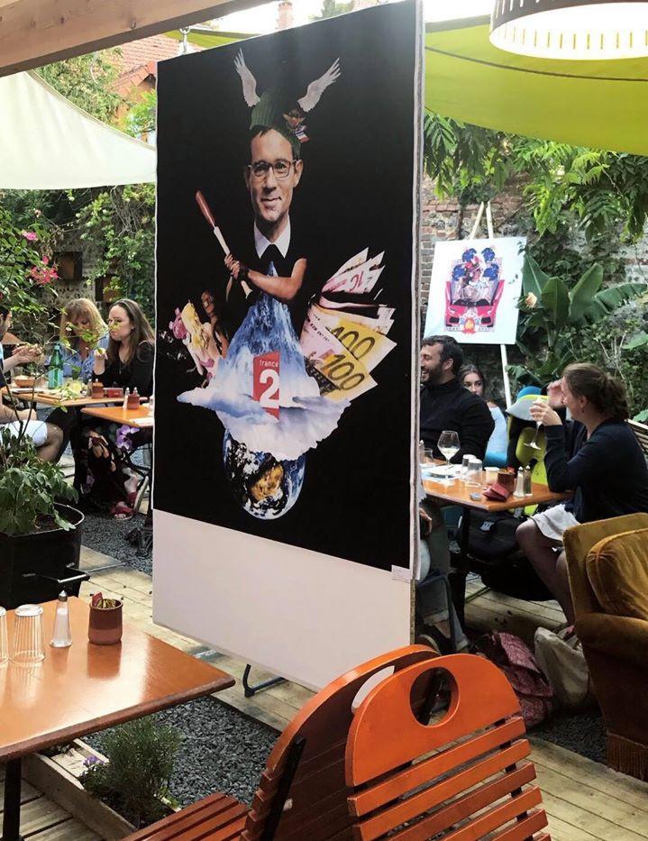 """Exposition Collective """"Le Jardin de la Dame de Trèfle"""""""