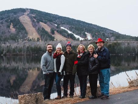 The Shaw Family at Shawnee Peak