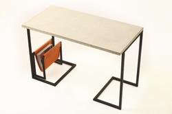 bespoke concrete desk