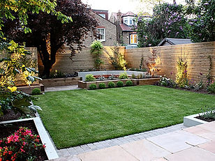 Patio landscaping colchester decking