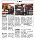030820 Newsday Letters - Loss of Civilit