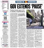 041720 Newsday - Gov extends 'pause' - R