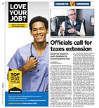 032320 Newsday - Officals call for taxes