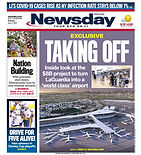 090620 Newsday Cover - LaGaurdia Airport