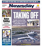 090620 Newsday Cover - LaGaurdia Airport