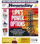 112920 Newsday Cover - LIPA's Power Opti