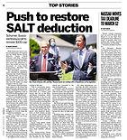 012921 Newsday - Push for SALT Schumer:S