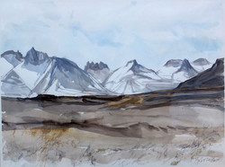 The Breiðdal-Mountains