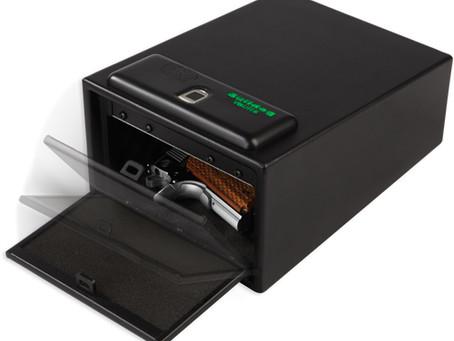 The Bulldog Vaults Magnum Biometric Pistol Vault.