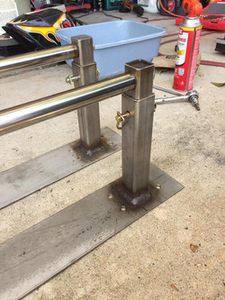Stainless Steel pull up bars