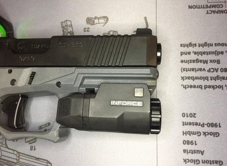Weapon mounted lights over handheld?