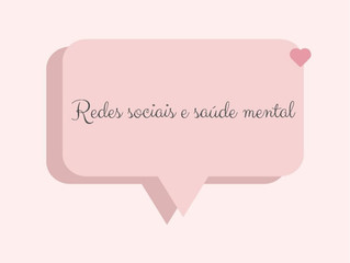 Redes sociais e saúde mental