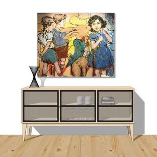 Galss Display Cabinet
