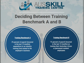 Deciding between Training Benchmark A & B?