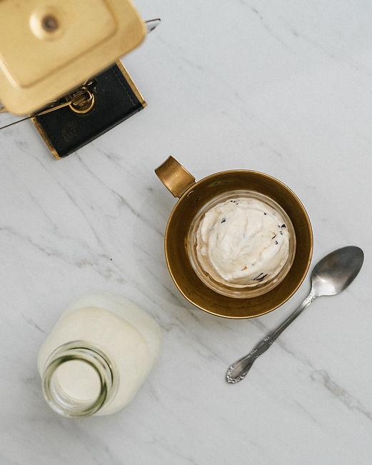Del's Salted Caramel Ice Cream