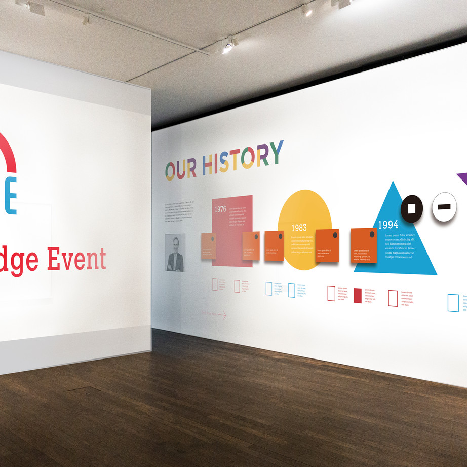 Exhibition Wall Graphic 2
