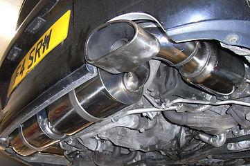 Porshce 996 exhaust upgrade