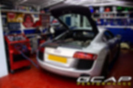 Audi R8 Aircon