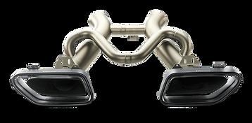 McLaren MP4-12C exhaust