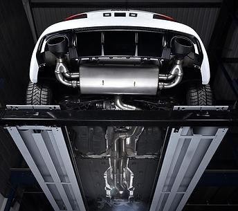 Audi RS3 Exhaust upgrade