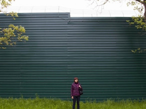Между садовыми участками сосед установил высокий забор. Что делать?