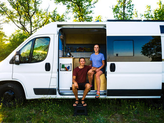 The Couple who turned 2020 into the biggest adventure of their lives.