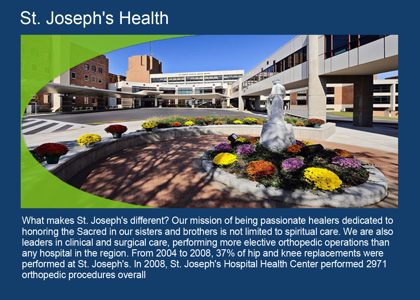 St Josephs Health