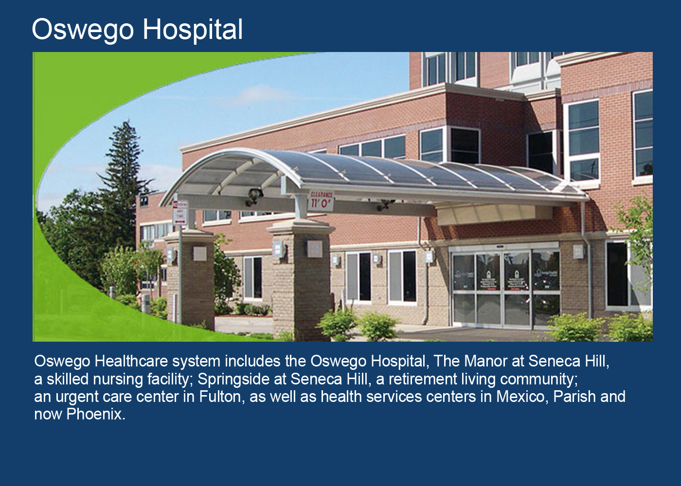 Oswego Hostpital